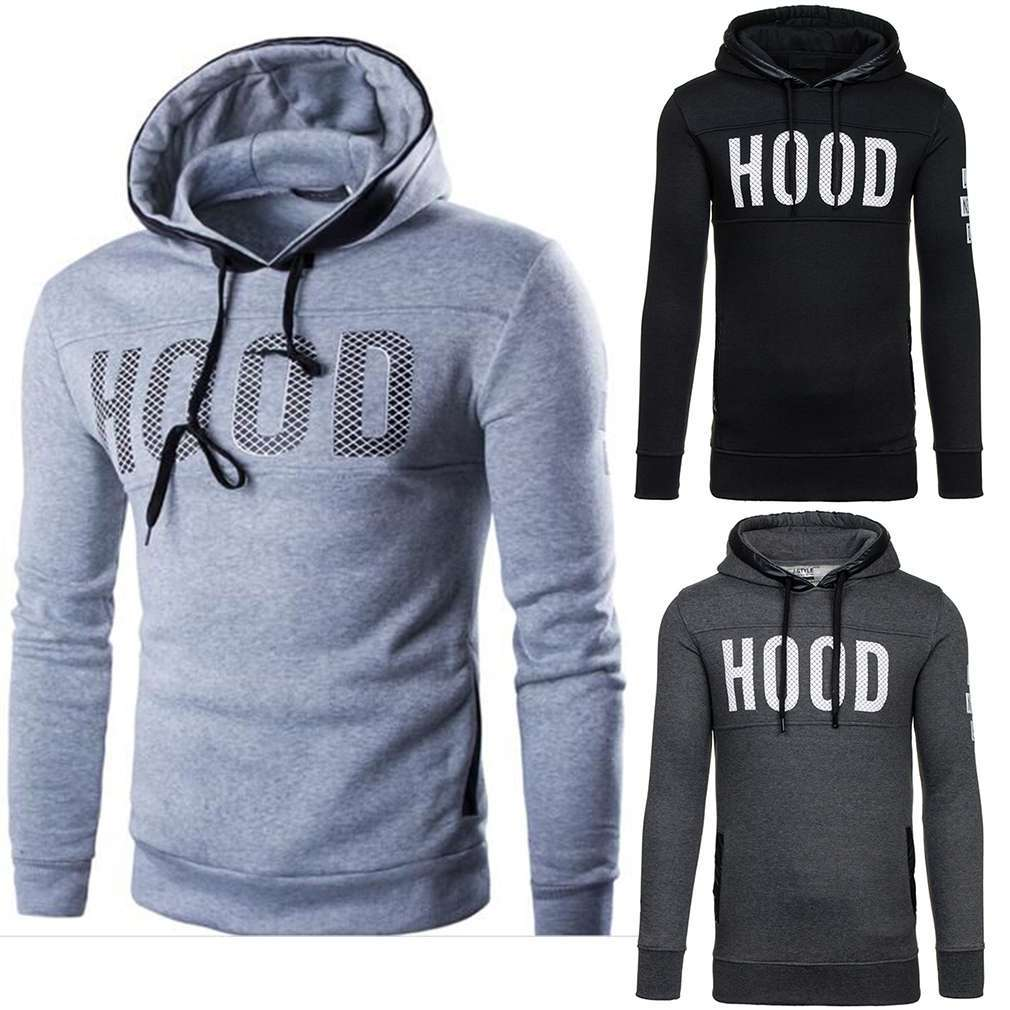 New Spring and Autumn set hand cotton printing Thicken Long-sleeved fleece hooded fashion youth warm Sweatshirts Hoodies