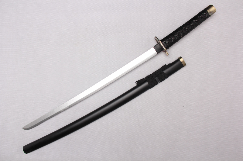 Anime one piece zoro ahşap cosplay katana japon sword
