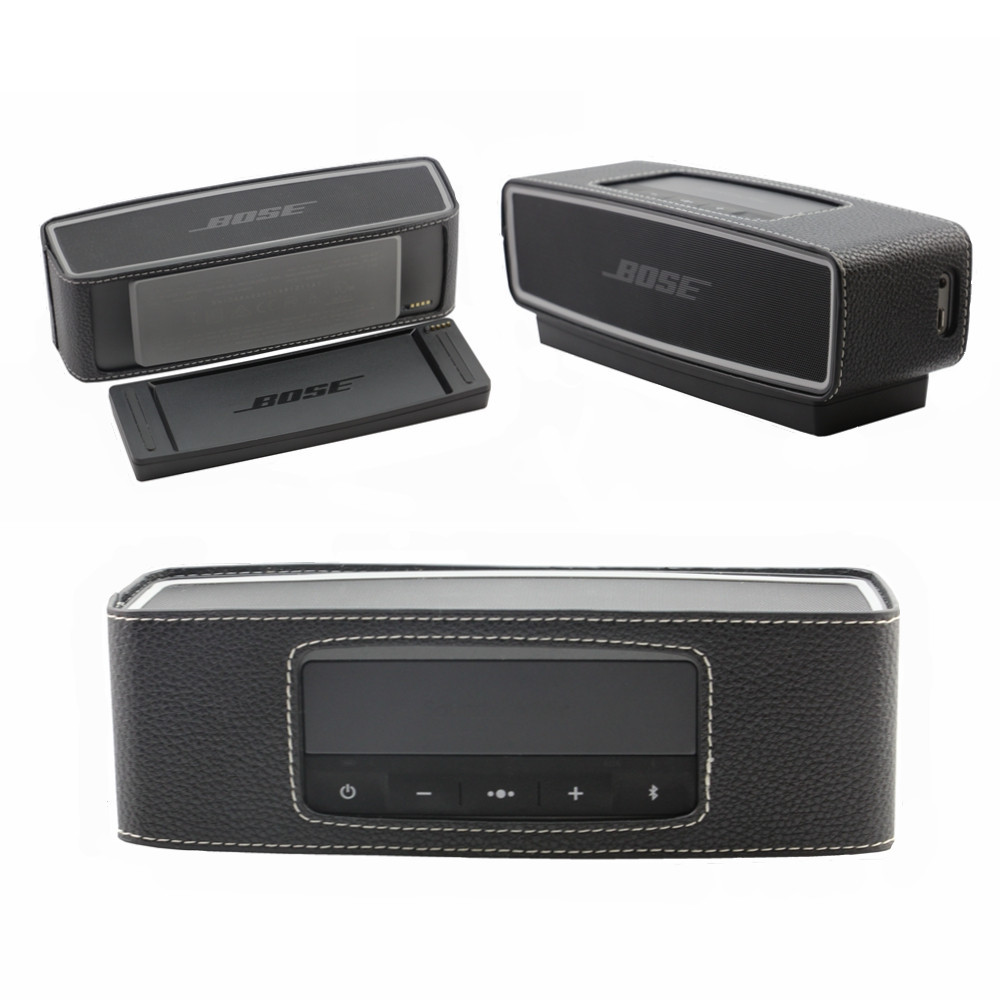 Hot Selling PU Leather Travel Protective Cover Bag Case Bumper For Bose Soundlink Mini 2 II Bluetooth Speaker Free shipping